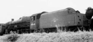 London Midland Scottish Railway 'Lord Rutherford of Nelson', Jubilee class locomotive 45665, 1935 - 1962.  Click for details. Thanks to Simon Robinson.