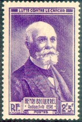 Henri Becquerel (1788-1878), French stamp issued 1946.