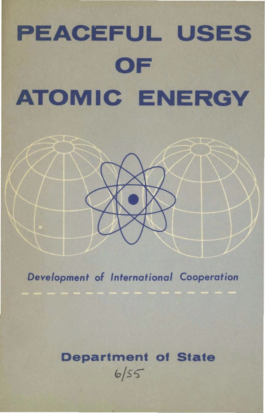cns history peaceful uses of atomic energy usa dept of