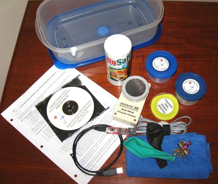 CNS Geiger Kit circa 2011